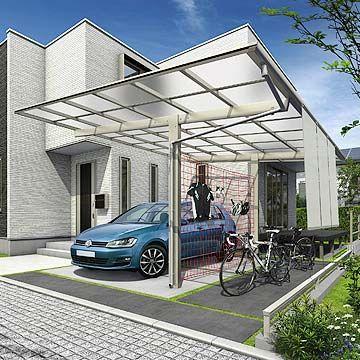 カーポート/サイクルポート エフルージュ シリーズ | 車庫まわり | エクステリア建材 | 商品を探す | YKK AP株式会社