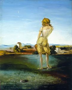 Girl with Curls - (Salvador Dali)