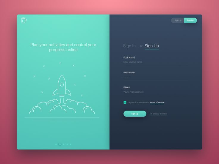 @MaterialUp : To Do App - Sign Up User interface by @RonEvgeniy https://t.co/ueK3ODaNCn https://t.co/CcjnoDKw45
