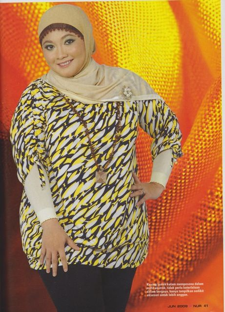 More Plus size fashion.   A tad dated if you ask me.