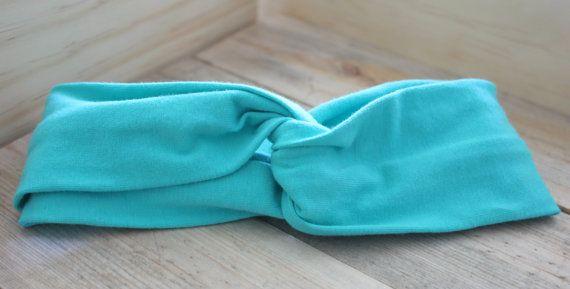 Turban Headband // Solid color turban headbands by YoureSewTulle