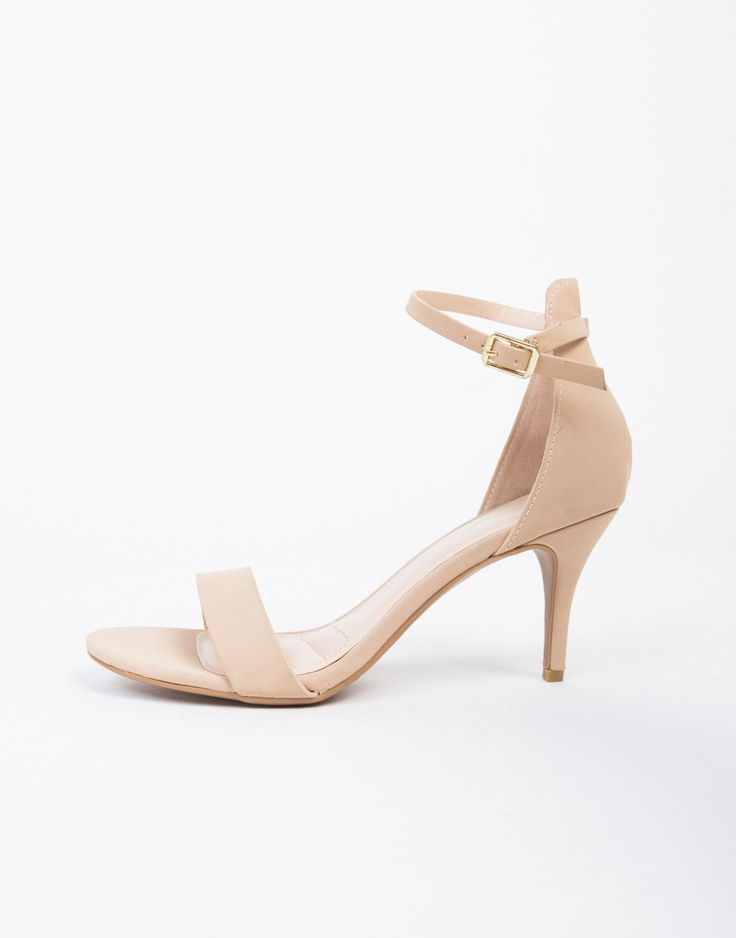 Meow. Just enough chic and just enough heel, these Ankle Strapped Kitten Heels are amazing. They feature a lower heel for us girls who can't stand heels sometimes. You still get the look while being a