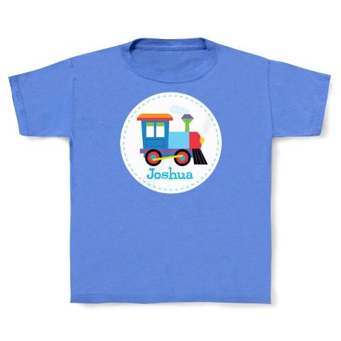 Personalized Train Tshirt by Olive Kids!