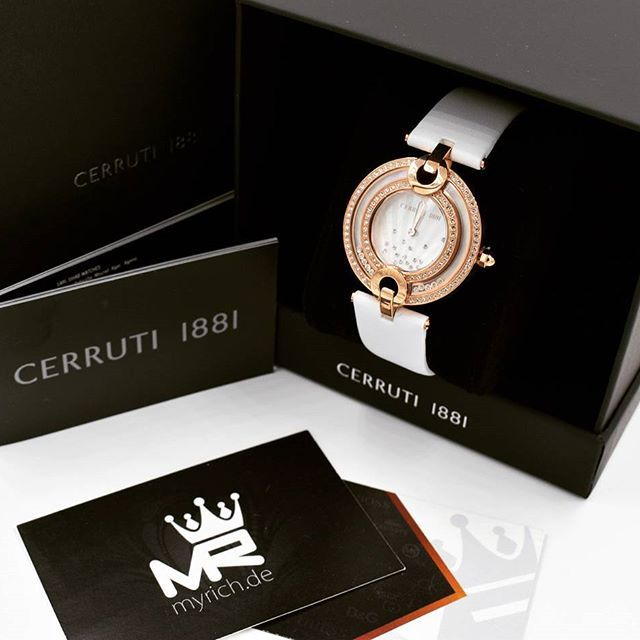 CERRUTI 1881  CRM054SR28WH | @MyRich.de #cerruti #cerruti1881 #cerrutiwatch #original #official #CRM054SR28WH #rosewatch #style #uhr #trend #life #new #authentic #watches #lifestyle #brand #jetset #luxus #juwelry #luxury #lady #swarovski #fashion #perlmutt #bracelet #special #rose #zirkonia #accessories #crystal