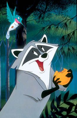 30 Day Disney Princess Challenge: Day 11: Favorite Animal Sidekick: Meeko from Pocahontas