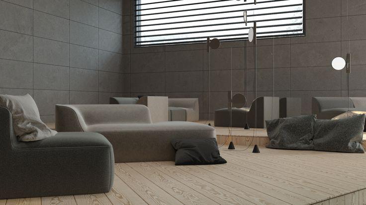 Mont group Office | projekt projektowanie wnętrz | troomono