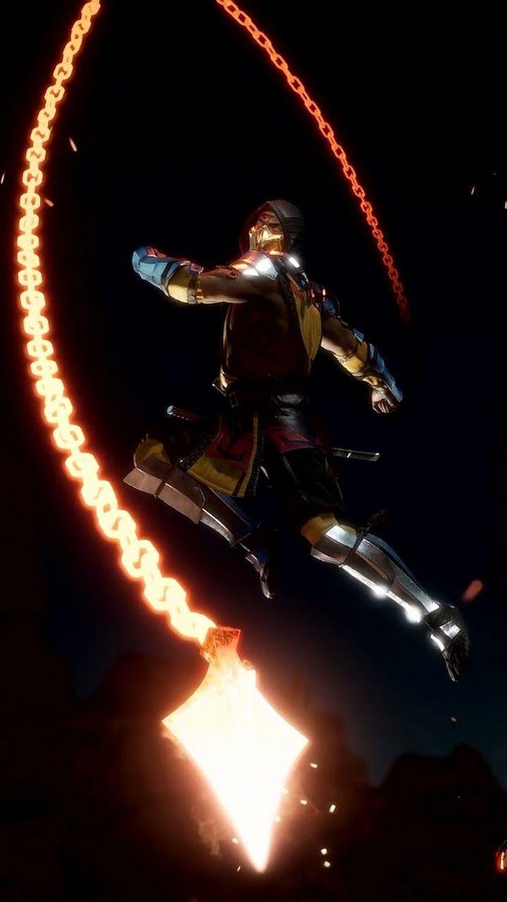 Mortal kombat 11 scorpion wallpaper scorpion photoshoot - Mortal kombat 11 wallpaper ...