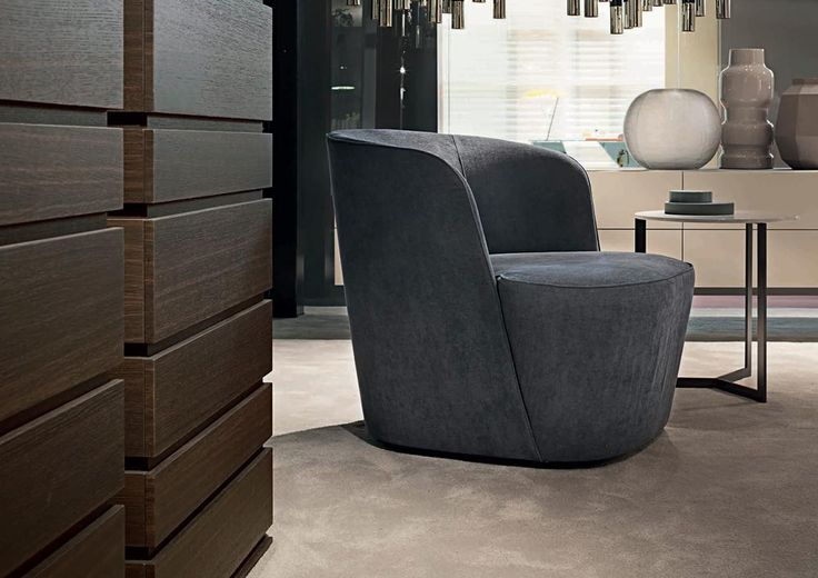LEMA | Great elegance and compact size for FELIX, signed by Roberto Lazzeroni, an armchair that is ideally located in sleeping areas as well as the living area.