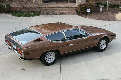 Lamborghini Espada: For the Family man. Very flat.
