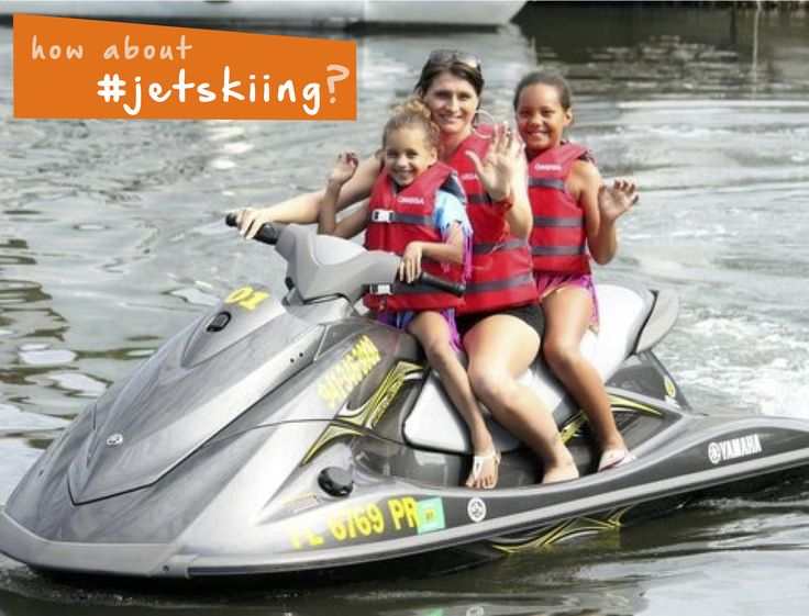 How about #jetskiing with the family? #familyfun #summer #ocean #thingstodo…