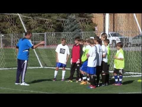 Soccer Training - Defending Drills 2 - YouTube