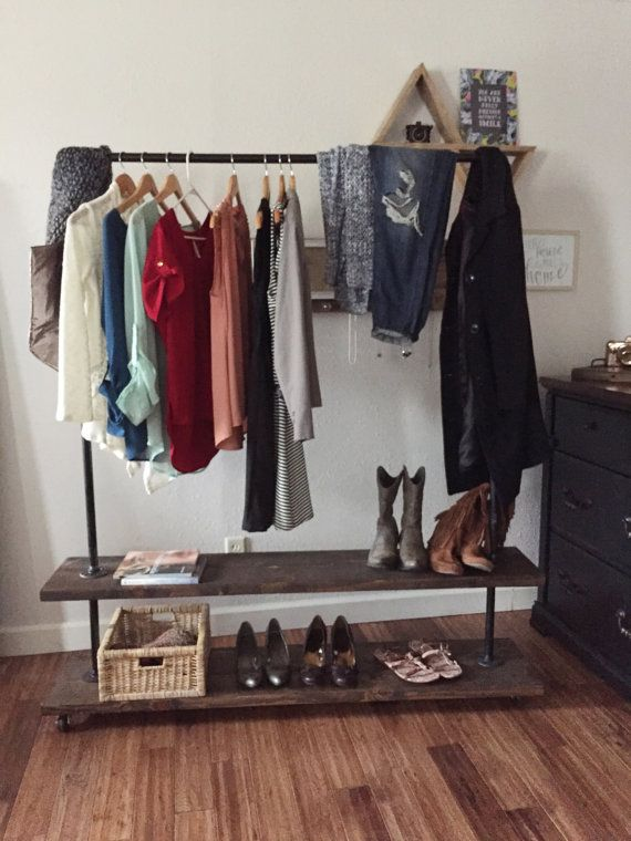 Industrial clothing rack - clothes stand - pipe rack