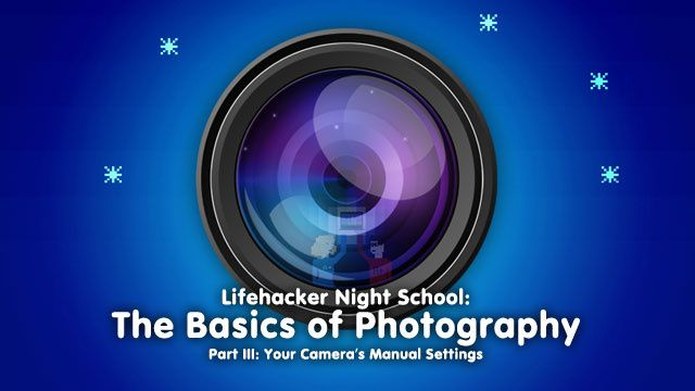 Basics of Photography: Your Camera's Manual Settings. More tips here too - http://www.cambridgeincolour.com/photography-techniques.htm