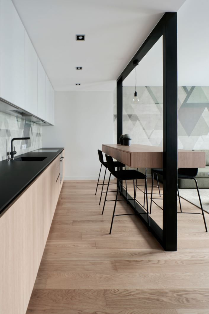 Cucina Americana Arredamento.Inga Wooden Chair With Footrest Interiors Kitchens Nel