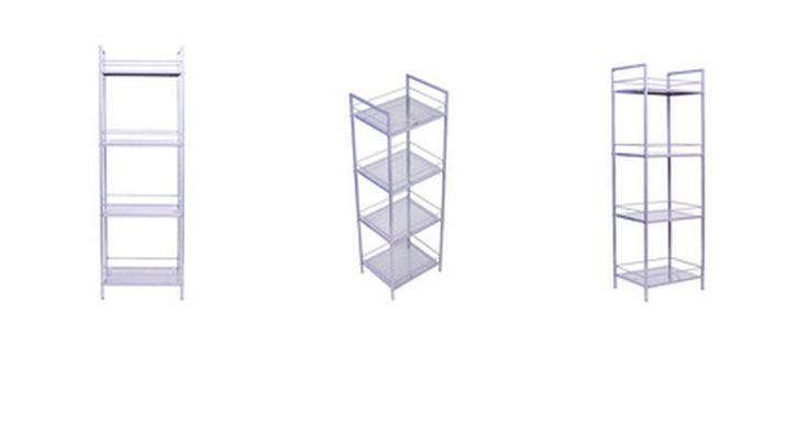 Cómo pintar estantes de metal. Algunos pueden pensar que como el metal es un material muy suave, no poroso, pintarlo puede ser más complicado pero, con la preparación adecuada, pintar metal es muy similar a pintar cualquier otra cosa. Para pintar estantes de metal, la primera cosa a considerar es si los estantes se encuentran en el interior o exterior, ya que esto afectará el ...