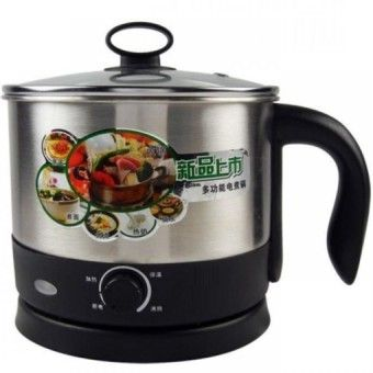 Price 1.6L Stainless Steel Multifunctional Electric Cooking Pot WithSeparable Base - SilverOrder in good conditions 1.6L Stainless Steel Multifunctional Electric Cooking Pot WithSeparable Base - Silver ADD TO CART OE702HLAPMUXANMY-727728 Kitchen & Dining Cookware Pots & Pans OEM 1.6L Stainless Steel Multifunctional Electric Cooking Pot WithSeparable Base - Silver