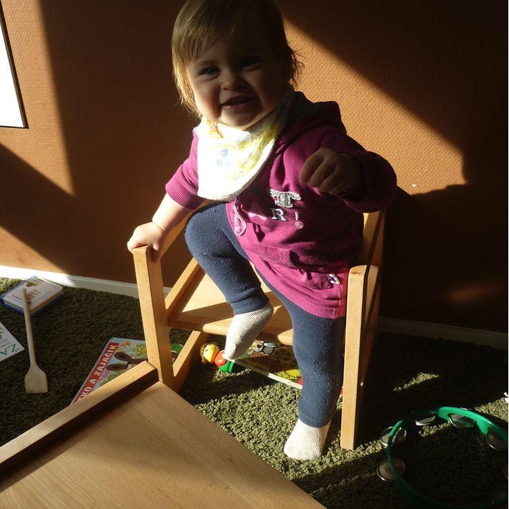 Montessori stolík a stolička Dorotka pre ročné dieťa