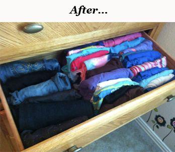 Kid Friendly Dresser Organization Tips!!! - The Repo Woman | The Repo Woman