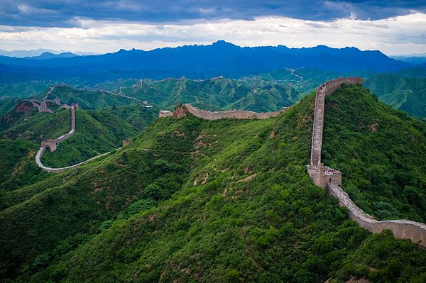 Inktober Dia 08 - A Grande Muralha da China (Qin Shi Huang)