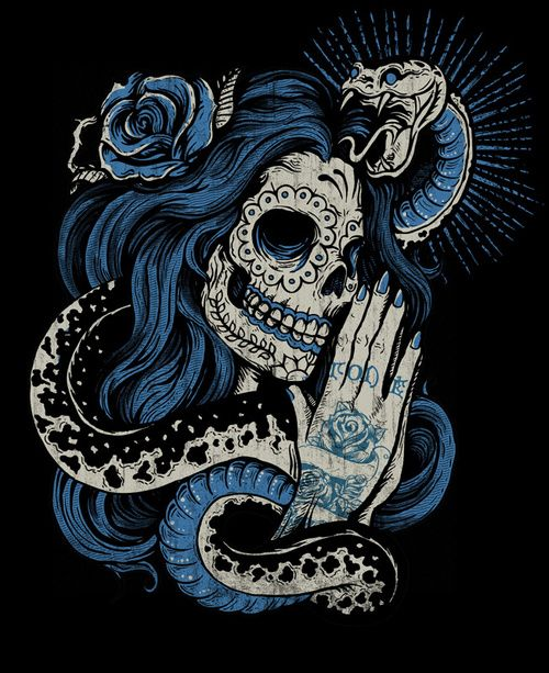 Best 25  Sugar skull painting ideas on Pinterest