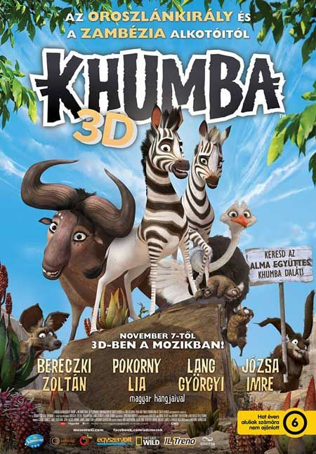 #Khumba releases in Hungary this weekend! Nov 7th @KhumbaMovie