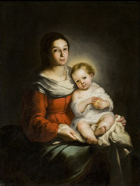 File:Bartolomé Esteban Murillo - Madonna and Child.jpg