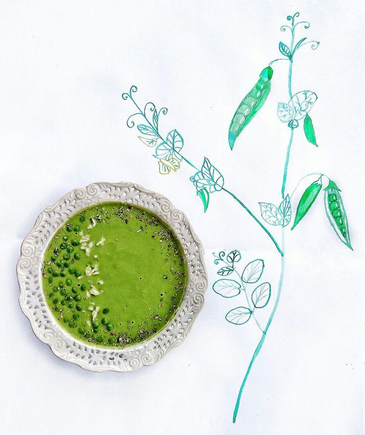 Hrášková nevarená, iba rozmixovaná polievočka👍  Pridala som lahôdkové droždie, cesnak, trošku citrónovej šťavy a sójovej omáčky. Ešte lepšia bude ak pridáte aj dobré zrelé avokádo. 😋😋😋 #mnam #mnamka #mňam #yummy #rawicko #suravastrava #mixujeme #milujempolievky😊😝🙏 #hrach #hrachova #polievka #zeleninova #zeleninka #zelenastrava #zelenina #nitra #dnesjemvegan #dnesjemzdravo #dnesjem #uzasnejedlo #vynikajucejedlo #vkuchyni #hrasok #hrášok #hrášková #hraskova #strukoviny #bielkoviny…