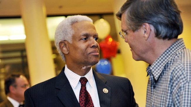 House Democrat Unveils Bill To Demilitarize Local Police Georgia Rep. Hank Johnson proposed legislation on Thursday aimed at demilitarizing domestic police forces, amid national criticism of heavily armed cops going after protesters in Ferguson, Mo.