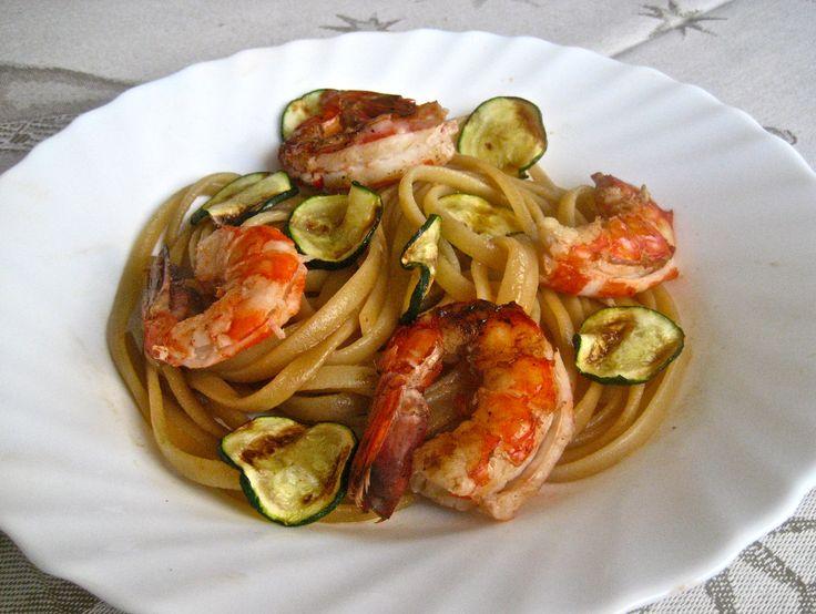 8th Day of Christmas – Linguine Gamberoni | Kitchen Paradiso