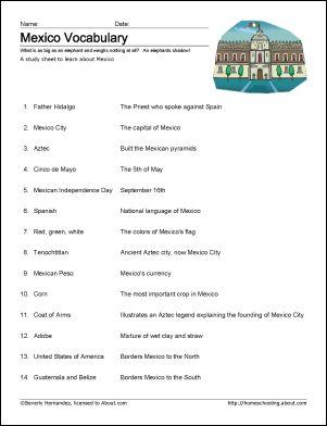 Los destinos worksheets