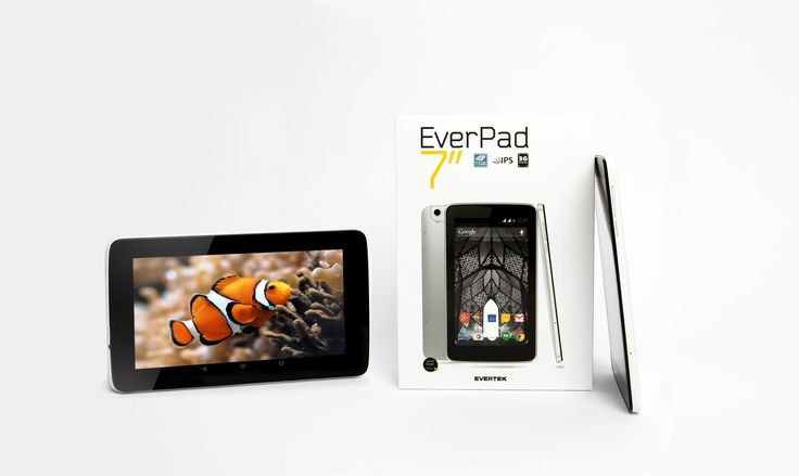 Avec son écran 7'' HD et son processeur 1.3 GHz,  l'EverPad E7034HG est sans doutes une des Tablettes les plus performantes du marché en rapport Qualité / Prix! Doté de deux caméras (avant 0.3MP & arrière 2MP), l'EverPad E7034HG dispose de jolies lignes harmonieuses et d'une très bonne finition. Beau, robuste et doté d'Android 5.0 Lollipop (meilleur OS Mobile au Monde), vous pourrez en profiter pour télécharger des milliers d'applications sur Google Play.