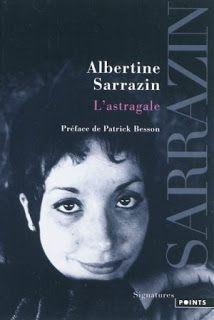 Lundi Librairie : L'astragale - Albertine Sarrazin http://www.parisladouce.com/2015/05/lundi-librairie-lastragale-albertine.html