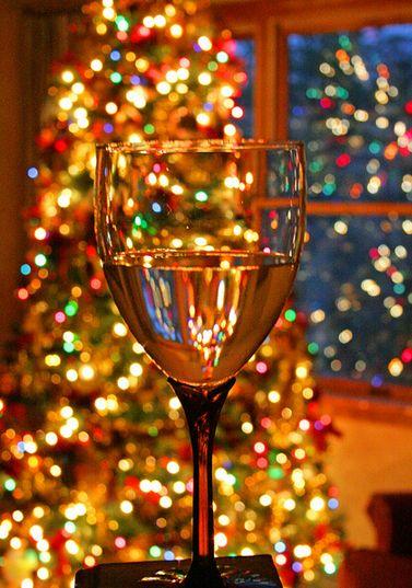 christmas trees and wine :)