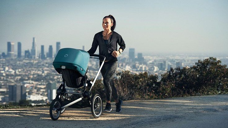 Strollers and prams designed to take running aren't a new concept, but often only the most dedicated runners will go to the effort (and cost) of purchasing two separate strollers.Well now Bugaboo has offered a solution with the introduction of the Bugaboo Runner, a separate chassis...