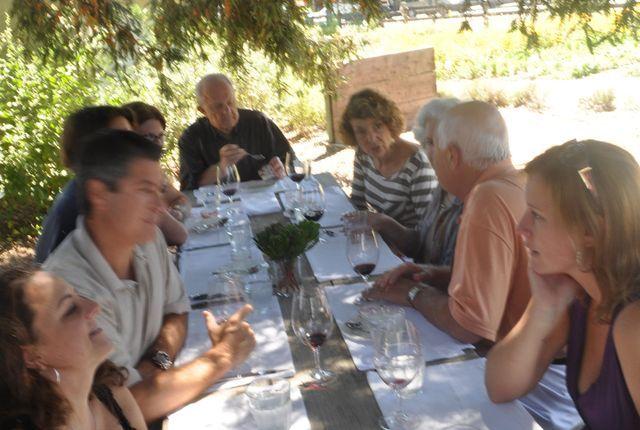 Farmstead restaurant, St Helena, California