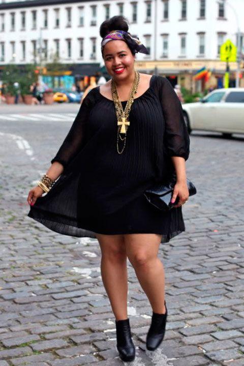 7 tips de moda para robarle a las plus-size bloggers. ¡Siéntete orgullosa de tu figura!  Gabifresh