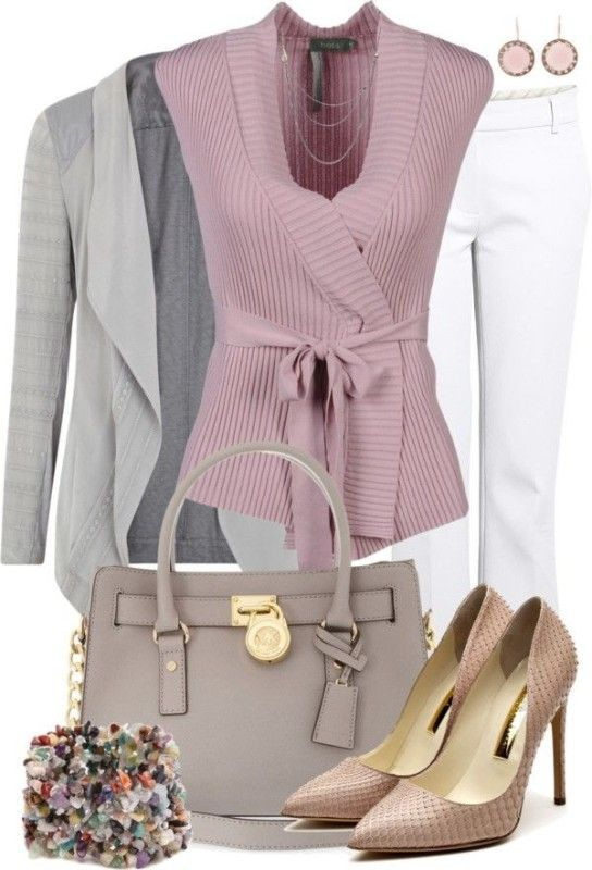 80 Elegant Work Outfit Ideas in 2017  - Are you looking for catchy and elegant work outfits? We all know that there are several factors which control us when we decide to choose something to... -  work-outfit-ideas-2017-23 .