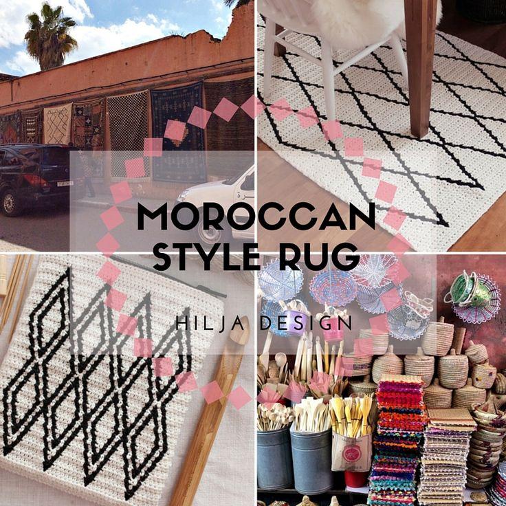 Kuin kynällä piirrettyjä herkkiä viivoja, timanttien verkostoja ja kuvioita kutojien omasta elämästä kertoen. Niistä taitaa marokkola...