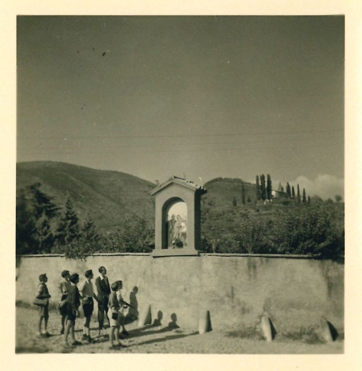Gussago 1945, la Santella di casa Peracchia - http://www.gussagonews.it/gussago-1945-santella-casa-peracchia/