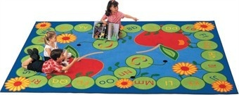 Adorable ABC Caterpillar Factory Seconds rug at an amazing price. Stock status changes constantly, so snag yours today! http://www.sensoryedge.com/abccarugse.html