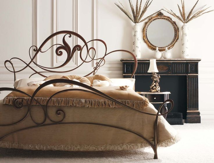 Giusti Portos bed: Iron Furniture, Irons, Google Search, Bed Frame, Wrought Iron Beds, Iron Work, Master Bedroom