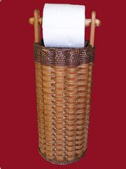 Toilet Paper Basket with Dowel