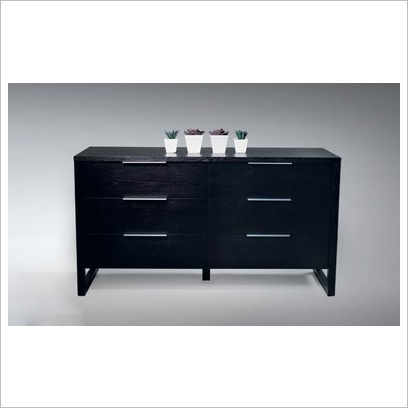DG Furniture 'Modena' 6 drawer dresser - it comes in white, too, but is so stealth there aren't any pictures of it!