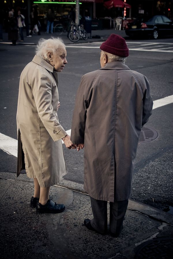 """Elderly Couple in New York"" by Tracey Tomtene, via 500px."