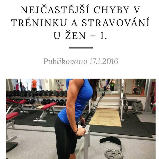 Zda se Vam, ze cvicite, ale nikam se neposouvate? Ze jste vyzkousela vse a nic dlouhodobe nefungovalo? Pak se pravdepodobne dopoustite stejnych chyb jako vetsina zen. Jake to jsou a jak jim predejit se dozvite v novem clanku na blogu www.risebyperformance.cz (odkaz v profilu). #fitness #bikinyfitness #squat #igfit #fitspiration #training #performance #strength #power  #performancetraining #power #bodybuilding #prague #crossfit #czech #muscles #core #diet #fatloss #ostrava #brno…