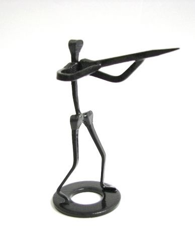 Horseshoe-Nail-Art-Gun-Shooter-Rifle-Shotgun-Ornament