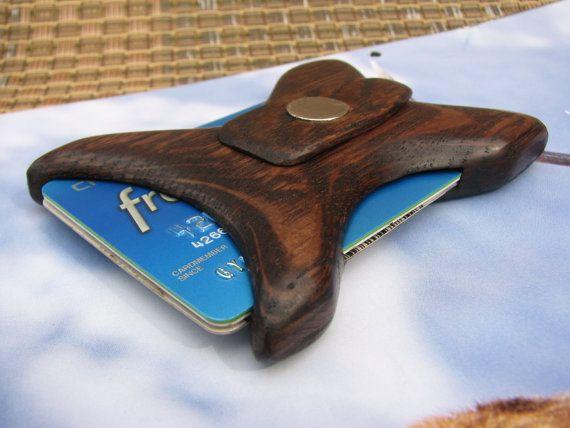 Front pocket wallet, Wooden Wallet, Thin Wallet, The best wallet, best wallet for men, Money clip