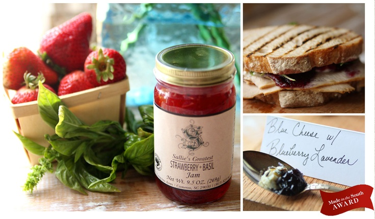 Sallie's Greatest Jams. SC homemade supporting local farms. And YUM. Won a Garden & Gun food competition in 2010!