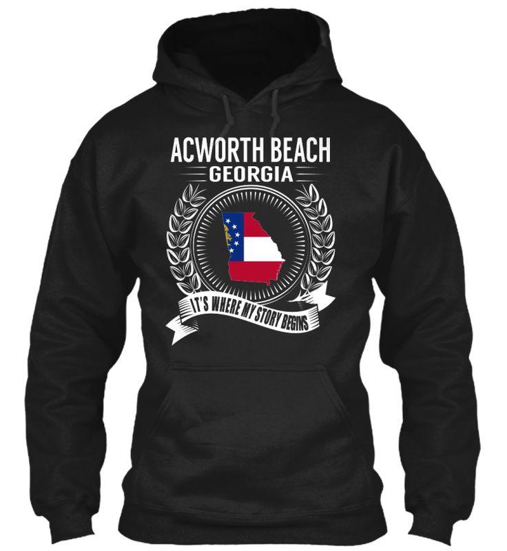 Acworth Beach, Georgia - My Story Begins