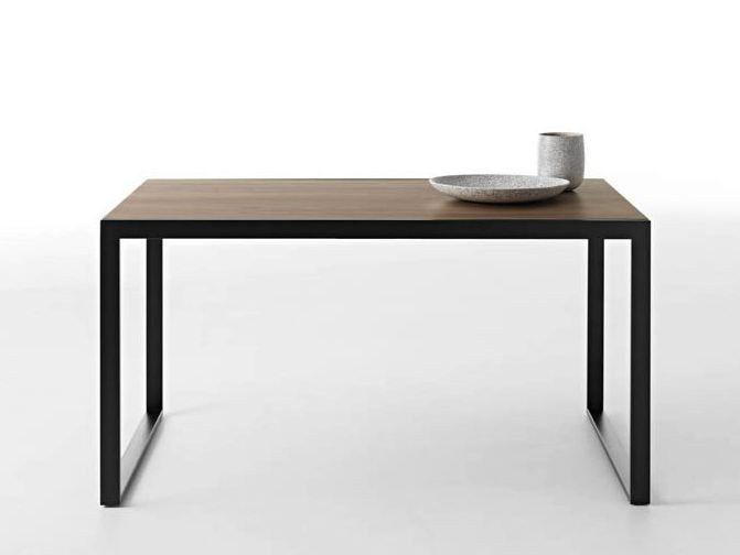 Mesa extensível de madeira WOW!PLUS by HORM.IT design Graphite Design, StH